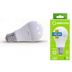 Lampadina LED A65 goccia 15 W E27 sdeal Bianco Naturale