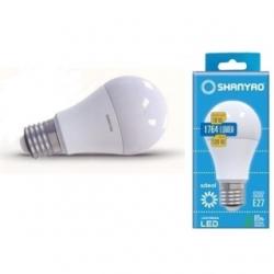Lampadina LED A65 goccia 18 W E27 sdeal Bianco Freddo