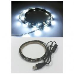 Striscia led flessibile siliconata 27 LED SMD 5050 90 cm. Bianchi Freddi
