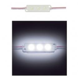 20 Moduli a 3 LED SMD 3528 Bianco freddo IP 65
