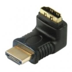 Adattatore HDMI ad angolo 90° Spina/Presa