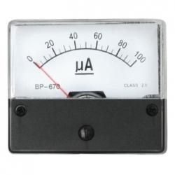 Amperometro 0-100 uA/DC