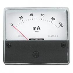 Amperometro 0-100 mA/DC