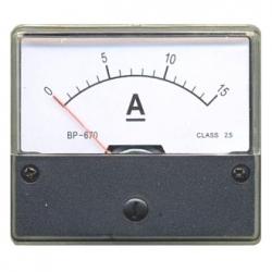 Amperometro 0-15 A/DC