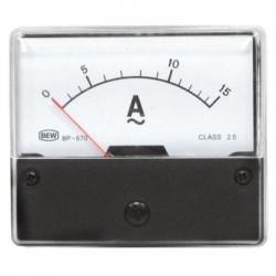 Amperometro 0-15 A/AC