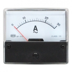 Amperometro 0-30 A/AC