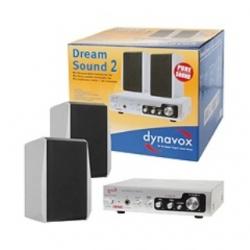 "Amplificatore Hi-Fi e casse ""Dream Sound 2"" Dynavox argento"
