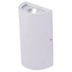Applique da esterno a LED COB 5+5 W Bianco Caldo - Colore BIANCO