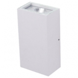 Applique da esterno a LED COB 5+5 W Bianco Freddo - Colore BIANCO