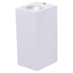 Applique da esterno a LED COB 3+3 W Bianco Caldo - Colore BIANCO