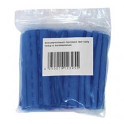 Assortimento 100 guaine termorestringenti BLU