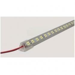 Barra 144 LED SMD 5730 in alluminio da interno 1 mt. Bianco Caldo