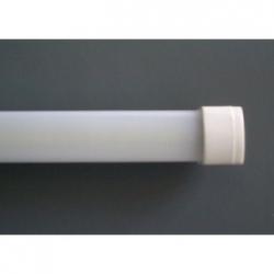 Barra LED SMD 3528 in alluminio da interno 1 mt. Bianco Caldo