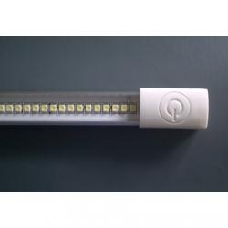 Barra LED SMD 3528 in alluminio da interno con interruttore 1 mt. Bianco Caldo