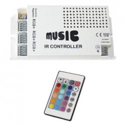 Controller RGB con telecomando IR 60W