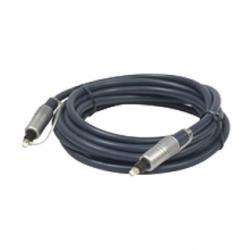 Cavo fibra ottica ( toslink ) 1,0 mt