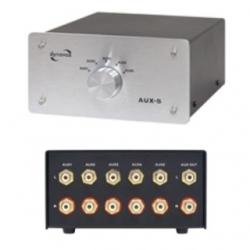 Commutatore audio-video AUX-S Dynavox Argento