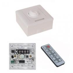 Dimmer per strisce LED con telecomando IR 12 V DC 8 A
