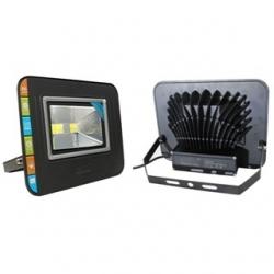 Faro DOPPIO LED SLIM da esterno 100 W Bianco Caldo