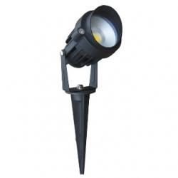 Faretto a LED da esterno 5 W adatto per giarido Bianco Caldo