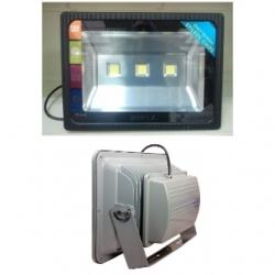 Faro  TRIPLO LED da esterno 150 W Bianco Freddo