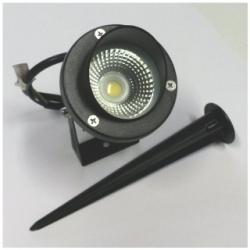 Faretto da esterno a LED 5 W Bianco Caldo