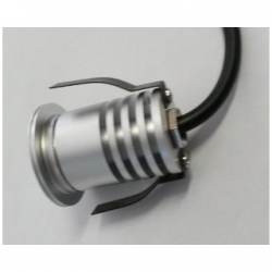 Faretto da incasso 4 LED SMD 5050 1 W Bianco Freddo