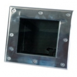 Box vuoto da incasso calpestabile Water Proof 160 x 160 mm