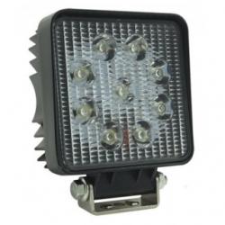 "Faro LED 4"" quadrato 27 W Bianco Freddo"