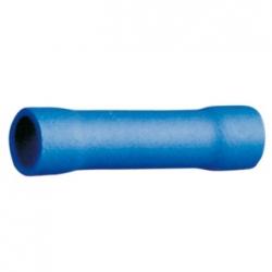 Faston di giunzione cilindrico 1,5-2,5 mm. Blu 50 pezzi