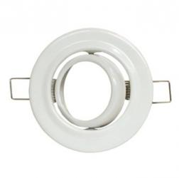 Ghiere per lampade alogene MR-11 orientabile Bianca