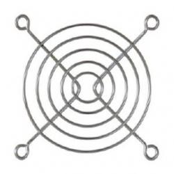 Griglia di protezione per ventola 80 x 80 mm.