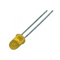 LED 5 mm. Giallo 100 pezzi