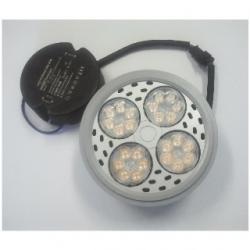 Faretto AR111 a 24 LED OSRAM 35 W Bianchi Caldi
