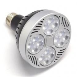 Lampada PAR30 E27 a 16 LED 35 W Bianco Caldo