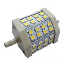 Lampada R7s 24 LED SMD 5050 Bianchi Caldi 5 W