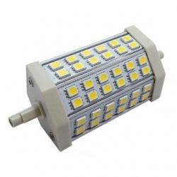 Lampada R7s 48 LED SMD 5050 Bianchi Caldi 10 W