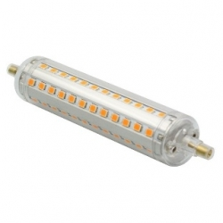 Lampada R7s 72 LED SMD 2835 Bianchi Caldi 10 W