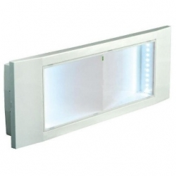 Lampada d'emergenza ad incasso LED SMD 3014 11 W Bianco Freddo