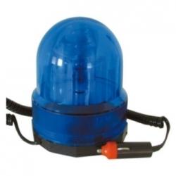 Lampeggiante 12 V con magnete Blu