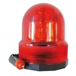 Lampeggiante 12 V con magnete Rosso