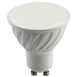 Lampadina 10 LED SMD MR16 GU10 7 W plastica Bianco Caldo