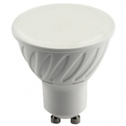 Lampadina 10 LED SMD MR16 GU10 7 W plastica Bianco Naturale