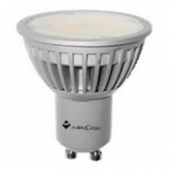 Lampadina 12 LED SMD Epistar MR16 GU10 6 W Bianchi Naturali - 20936