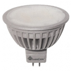 Lampadina 16 LED SMD Epistar MR16 GU5.3 6 W Bianchi Naturali - 20988