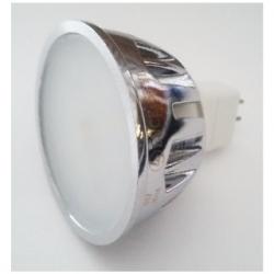 Lampadina 20 LED SMD MR16 GU5.3 7 W Bianco Caldo