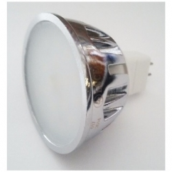 Lampadina 20 LED SMD MR16 GU5.3 7 W Bianco Naturale