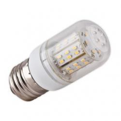Lampadina E27 48 LED SMD 3014 Bianchi Caldi 4 W
