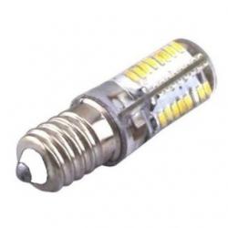Lampadina E14 64 LED SMD 3014 Bianchi Freddi 3 W