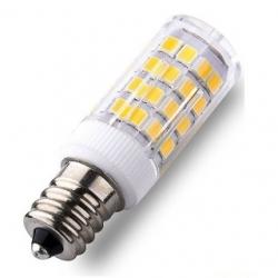 Lampadina E14 51 LED SMD 2835 Bianchi Caldi 5 W